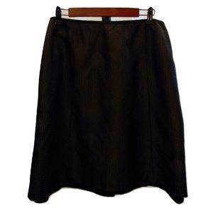 Strenesse textured fabric knee length career skirt